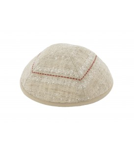 Kippah - Different Fabrics-browns