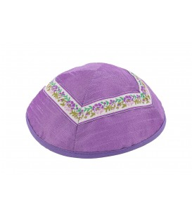 Kippah - Different Fabrics-purples