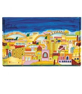 Challah Board - Jerusalem