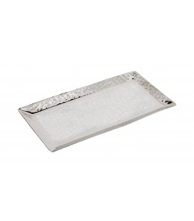 Tray - Stainless Steel + Hammer Work 28*16 cm