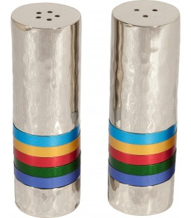 Salt & Pepper Shakers - Rings - Multicolor