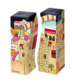 Salt & Pepper Shakers - Jerusalem