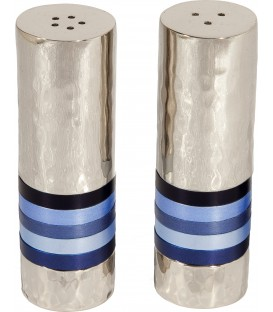 Salt & Pepper Shakers - Rings - Blue
