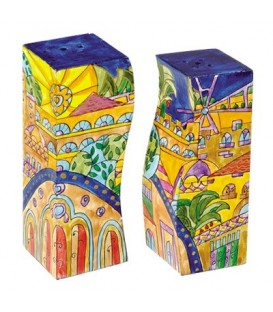 Salt & Pepper Shakers - Oriental Jerusalem