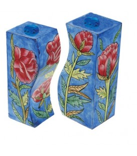 Salt & Pepper Shakers - Rose