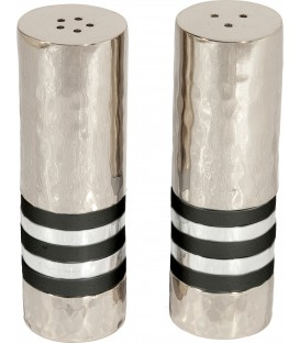 Salt & Pepper Shakers - Rings - Black