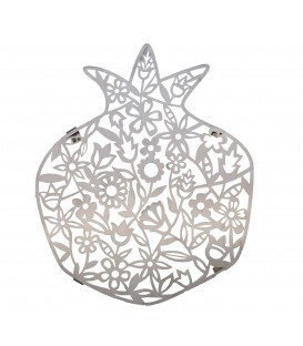 Trivet - Stainless Steel - Laser Cut - Flowers