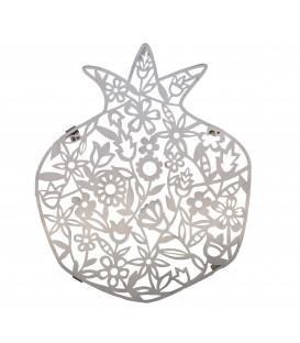 Trivet - Stainless Steel - Laser Cut - Flowers
