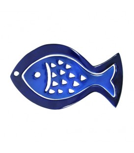 Aluminium Trivet - Painted -  Two Pieces - Fish
