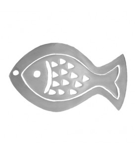 Aluminium Trivet - Two Pieces - Fish