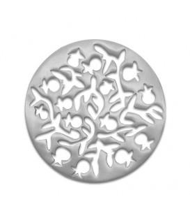 Aluminium Trivet - Aluminium - Dispersed Pomegranates