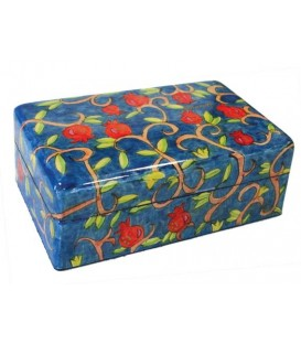Large Jewelry Box - Pomegranate