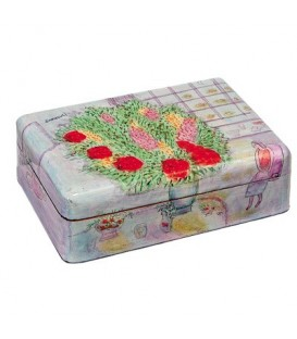Large Jewelry Box - Flowers