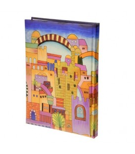 Hard Cover Writing Pad - Large Jerusalem