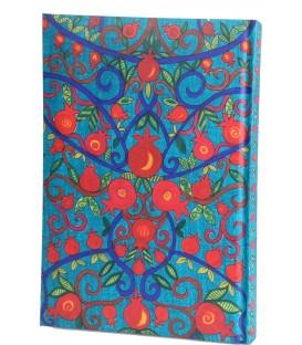 Hard Cover Notebook - Medium  -Pomegranates