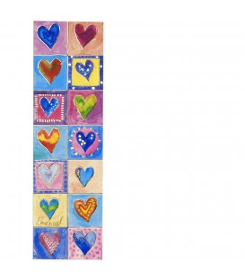 Bookmark - Hearts
