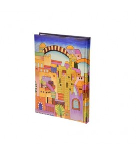Hard Cover Writing Pad - Medium Jerusalem