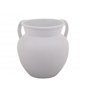 Small Netilat Yadayim Cup - White