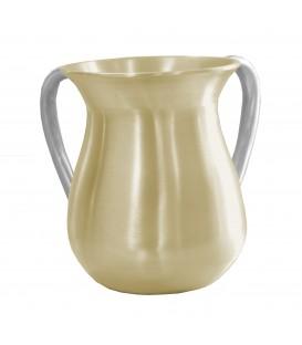 Netilat Yadayim Cup - Aluminium - Pearl