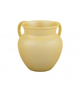 Small Netilat Yadayim Cup - Light Brown