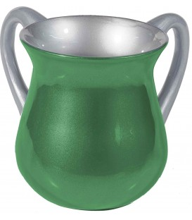 Netilat Yadayim Cup - Special Coating - Green