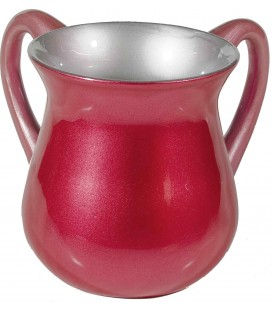 Netilat Yadayim Cup - Special Coating - Maroon