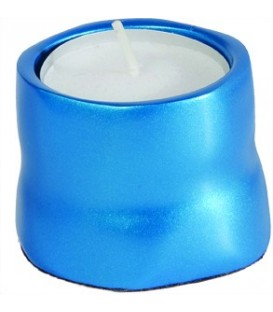Single T-Light Holder - Turquoise