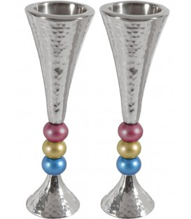 Candlesticks + Balls - Multicolor