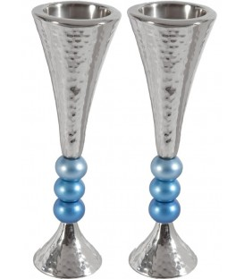 Candlesticks + Balls - Turquoise