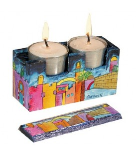 Travel Candlesticks - Jerusalem