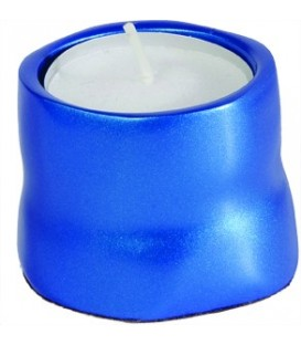 Single T-Light Holder - Blue