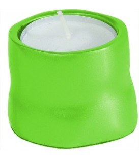 Single T-Light Holder - Green