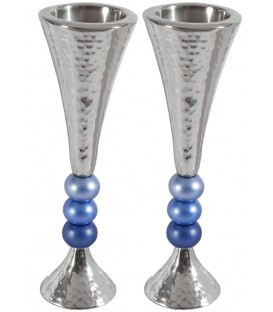 Candlesticks + Balls - Blue
