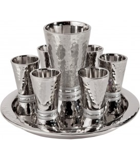Kiddush Set - Rings - Silver