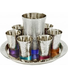 Kiddush Set - Hammer - Multicolor