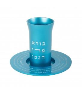 Kiddush Cup - Kiddush - Turquoise