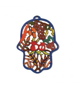 Hamsa - Painted - Laser Cut - 7 Species