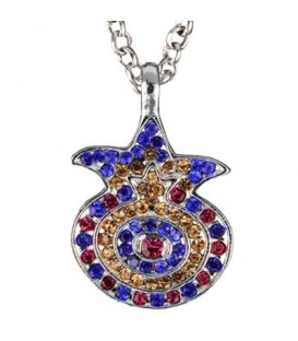 Necklace - Pomegranate - Multicolor