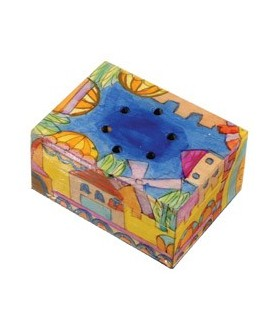 Spice Box - Painted - Jerusalem