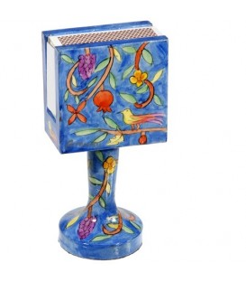 Matchbox Holder + Stand - Oriental