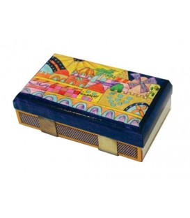 Match Box Holder - Kitchen Size - Oriental Jerusalem
