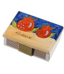 Match Box Holder - Small - Pomegranate