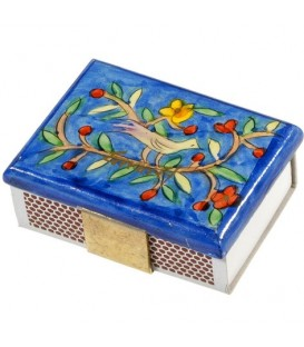 Match Box Holder - Small - Oriental