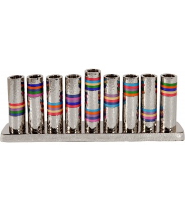 Hanukkah Menorah - Rings - Multicolor