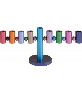 Hanukkah Menorah - Multicolor
