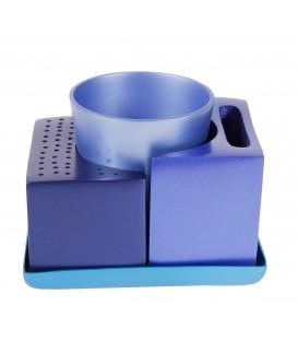 Havdallah Set - Comes Apart - Blue