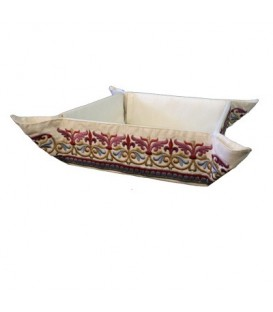 Folding Basket + Embroidery - Oriental Multicolor