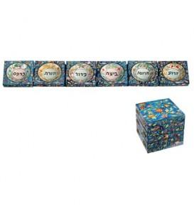 Foldable Seder Plate - Oriental