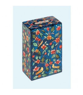 Rectangular Tzedakah Box - Oriental