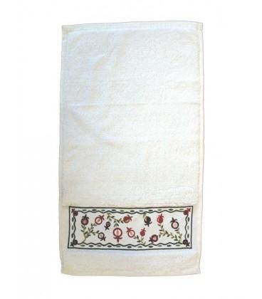 "Towel - ""Netilat Yadayim"" - Pomegranates"